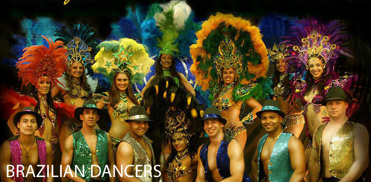 BOOK - BRAZILIAN DANCERS AND DANCE TROUPES - BRAZILIAN